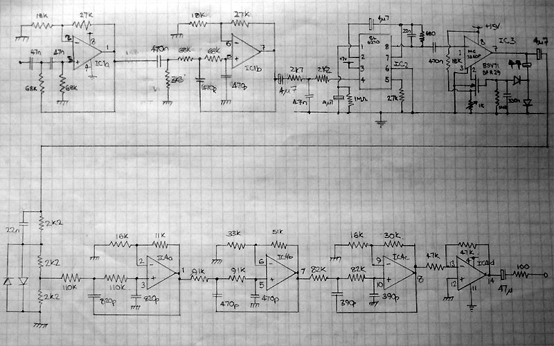 circuit diagrams and schematics for fm mw and sw transmitters and mw audio compressor